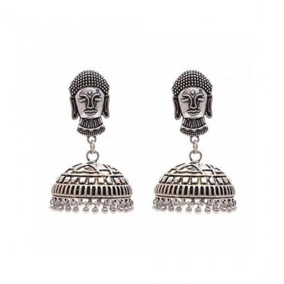Buddha Style Stud Jhumka