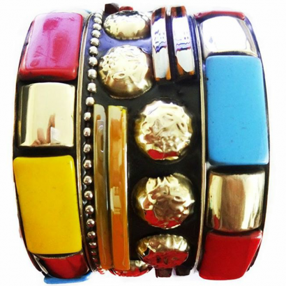 Junk Bangles (Multi Color)