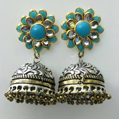 Sky Blue Pachi Earrings