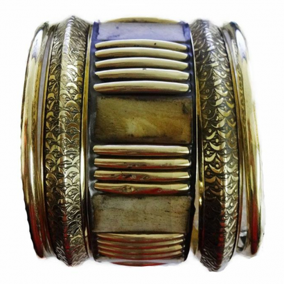 Golden Junk Bangle